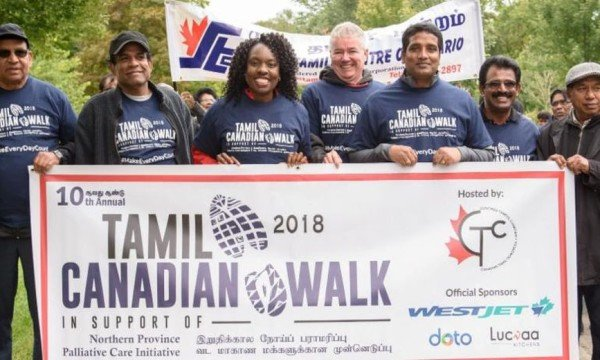 10th Annual Tamil Canadian Walk Raises $58,000 for Northern