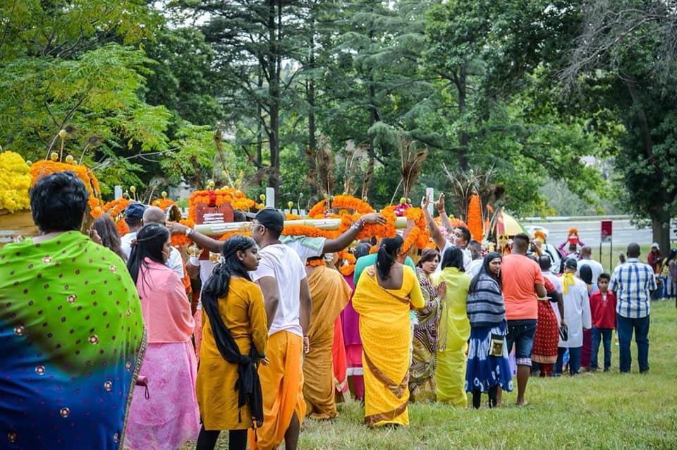 The Tamil God Murugan