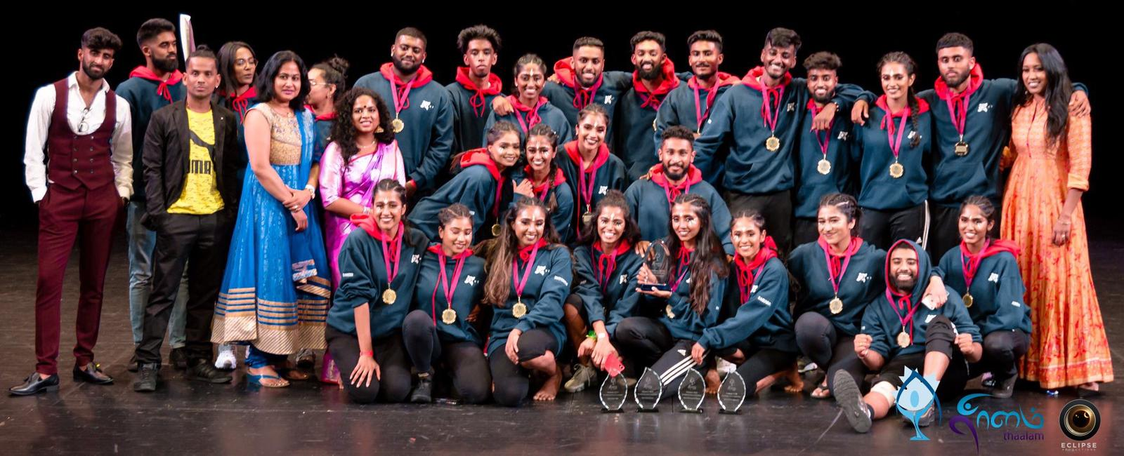 Thaalam 2019 Champions and recipients of Best Choreography Award, Best Theme Award, Best Audio Mix Award and Best Cheersquad Award