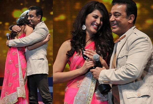 Kamal, Shruti Hassan at 59th South Indian Filmfare Awards Stills