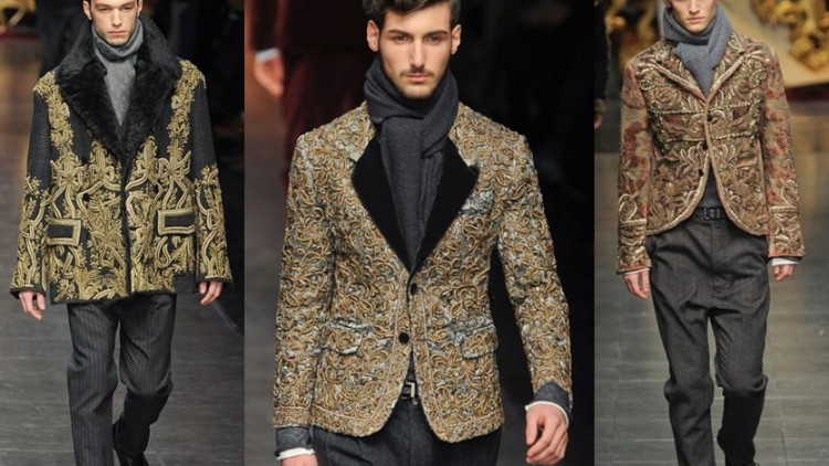 Dolce and Gabbana Milan Winter Fashion Week