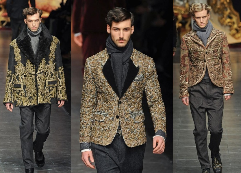 Dolce and Gabbana Milan Winter Fashion Week