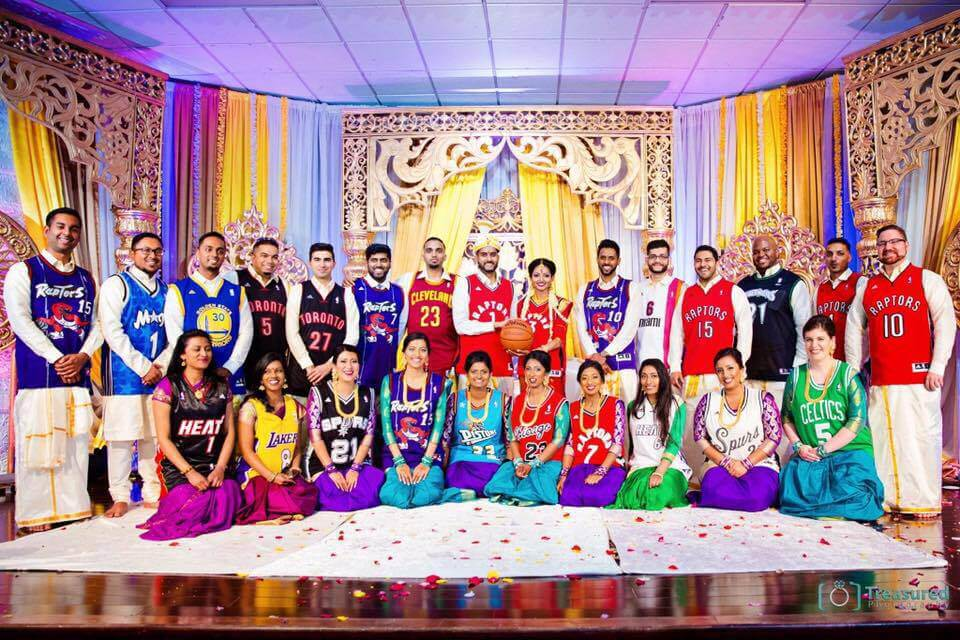 bball wedding