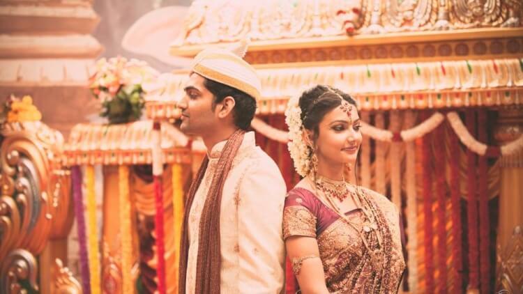 Tamilische Hochzeit