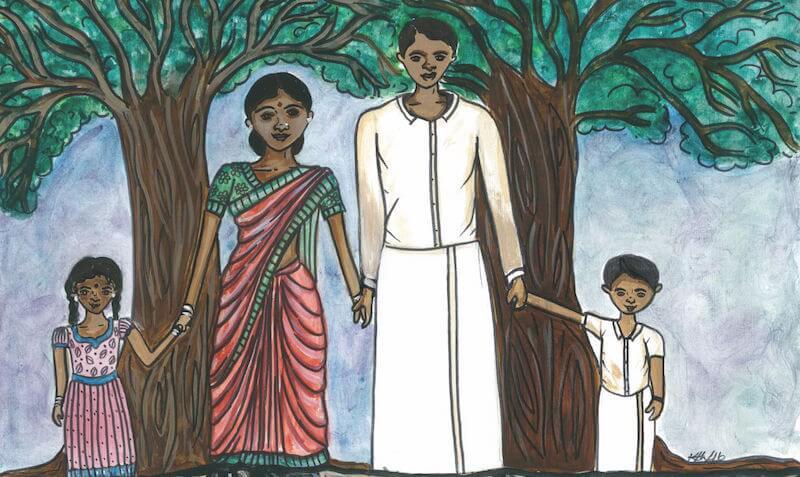 TDSB Tamil Heritage month poster