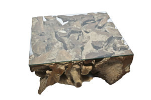 Teak Root Square Table (L)_opt