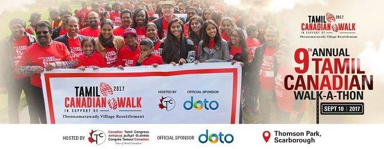 Tamil Canadian Walk