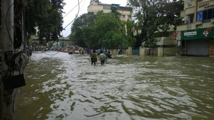 Flooding in Chennai